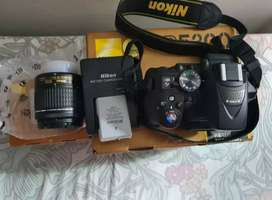 Nikon d 5300 with two lens and complete box
