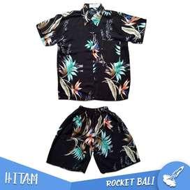 Setelan Pakaian Pantai Anak - Baju Anak Murah - Kemeja Hawai Anak