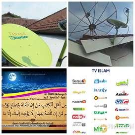 parabola islami pasang service area merangin