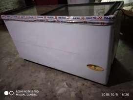 D freezer voltas  405 liter without compressor