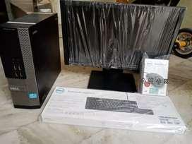 Dell i3 slim PC 4gb ram 500gb hdd 2gb graphics  box pack c. only cpu@