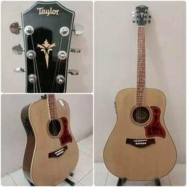 jual gitar custom akustik elektrik
