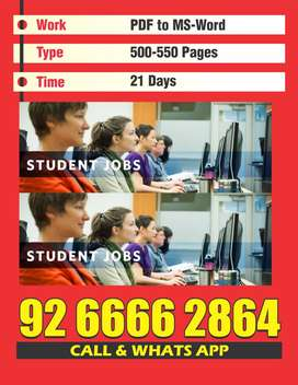 Good typing work form home based search so call me now provide all det