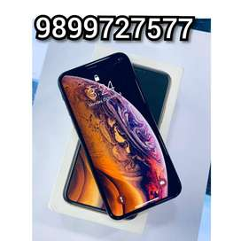 APPLE IPHONE  XS-64gb Gold Color with warranty