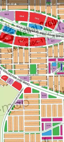 1 kanal plot for sale in sector H