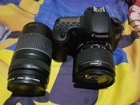 Jual Canon 60D kit mulus bonus lensa tele