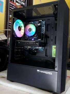 PC INTEL CORE i5 2500k  8GB DDR3 SSD 120GB VGA GTX1050Ti 4GB