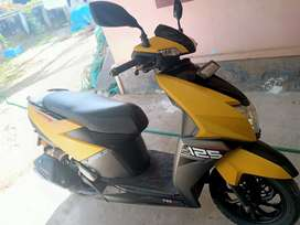 TVs ntork 2018 model. Good condition. Less used scooter