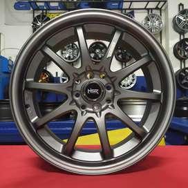 Velg Racing HS Hiroshima R17x7.5 H8x100-114.3 ET45 Buat Honda Jazz