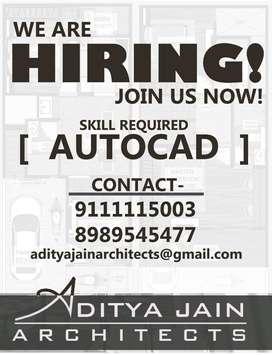 ARCHITECTURAL DRAFTSMAN REQUIRED