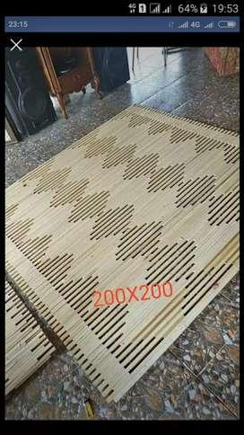 Tirai kayu motif,Tirai Rotan,Tirai bambu isi,kulit