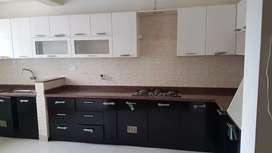 New 3bhk farnished flat near info park