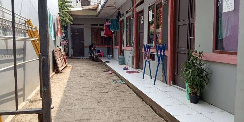 Dijual Kontrakan Karyawan di Ciater Tangerang 9 PINTU - Full Penyewa 0