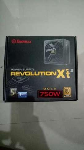 Power Supply PSU Enermax Revolution XT II 750W Gold Certified