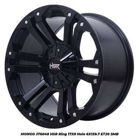 Velg Mobil Hilux Double, Dmax, Strada HSR R17 PCD 6X139,7