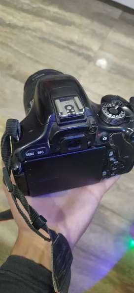Canon 600d camera with 18-55 lens