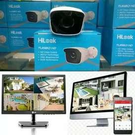 CCTV bergaransi resmi Paket cctv Hiluk - cam indoor - cam outdoor