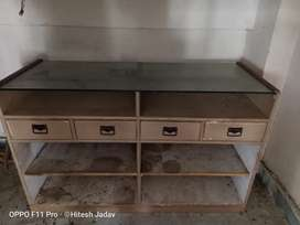 Front desk table