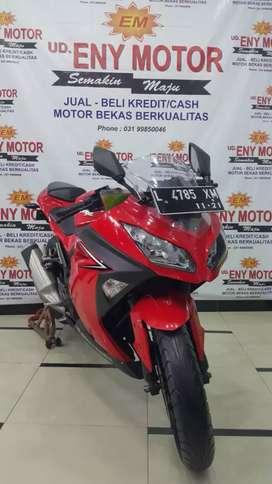 ninja fi  250 merah 2016 akhir -ud. eny motor