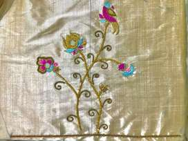 Aari embroidery works