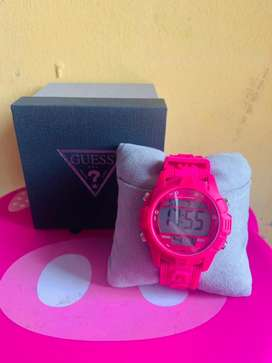 Guess Watch Pink Boost
