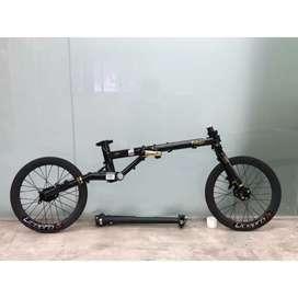 Sepeda lipat Fnhon Gust Disc Brake