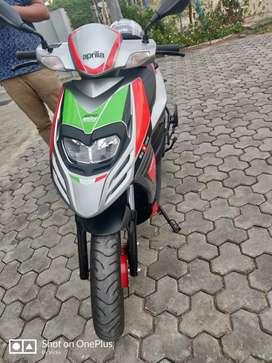 Aprilla Sr 150 race 2018 model but 2019 September month registration