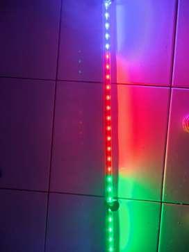Lampu Celup Aquarium Cosmo 80cm 3 Warna