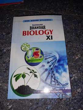 Bhandar book for biology  for standard 11th