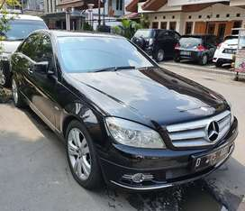 C200 Avantgarde CGI 2011 irit Mercedes benz mercy bandung hitam