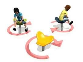 Saddle Spiner Playground Anak - Mainan Anak Outdoor