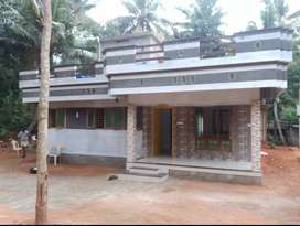 75 lakhs 12 cent and 3 bedroom two storey house