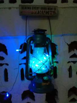 Vintage style Bietz Oil Burning Lantern for sale in cheap