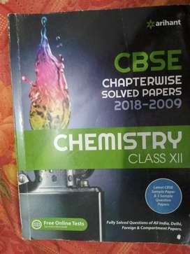 CHEMISTRY class 12 ARIHANT solved papers chapterwise
