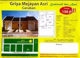 """Perumahan """"Griya Mejayan Asri"""" bersubsidi di Caruban Madiun type 30/60"""