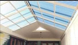 30 canopy rangka tunggal atapnya alderon rs masa kini
