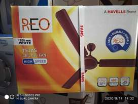 Havells ceiling fan 48 inchi with 2 years warranty.