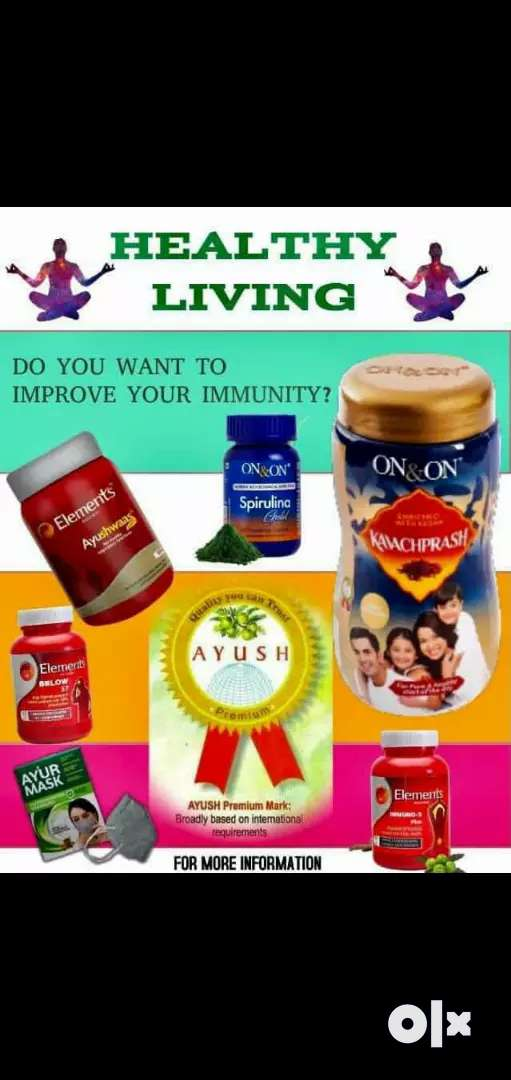 Ayurveda products (wellness prds)100%Resalts