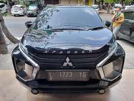 Mitsubishi Xpander 1.5 Manual 2019 tipe Exceed warna Hitam Odo. 48rb