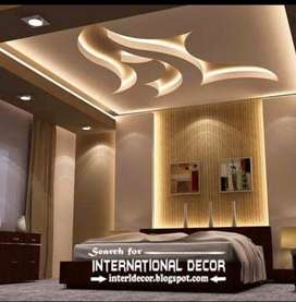 False ceiling work and material