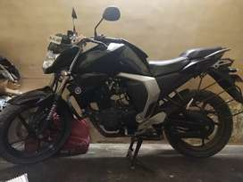 Yamaha Fz version 2 fuel injection black colour single owner