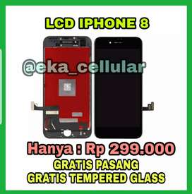 Ganti Lcd Iphone 8 Termurah (EKA CELL PS)