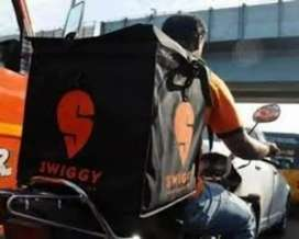 Delivery Boy required for swiggy company