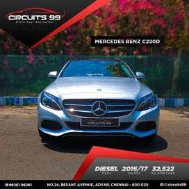 Mercedes-Benz C-Class C 220 CDI Avantgarde, 2017, Diesel
