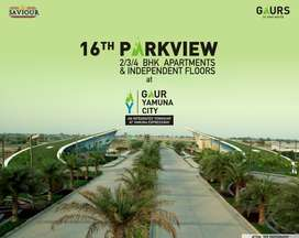 2BHK Aprtment for sale in Gr.Noida Gaur Yamuna City 16th Park View