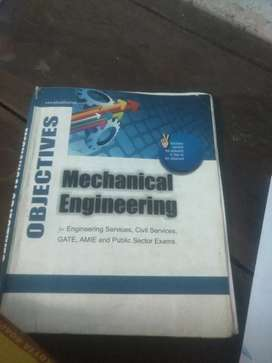 Mechanical engineering diploma competitive exam books old