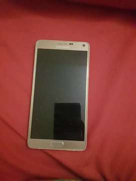 Galaxy note 4 used