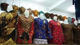 Batik Tunik pakaian wanita MD terbaru asli katun solo