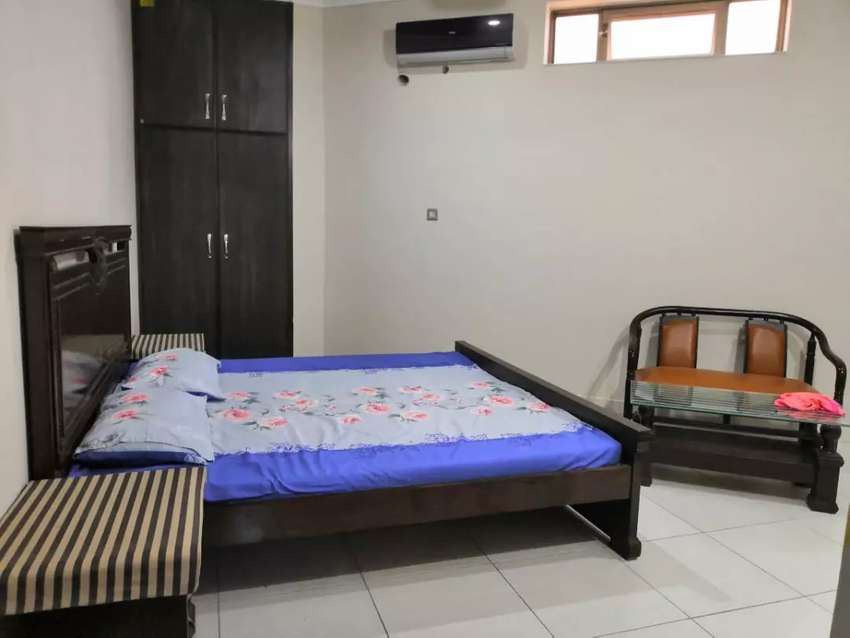 Beautiful Flat in beautiful Colony Canal Road Eden Valey Faisalabad 0