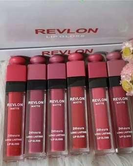 6pc Revlon Lipstik Matte
